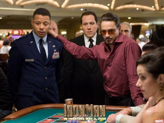 Iron Man Movie: Tony Stark and James Rhodes #1