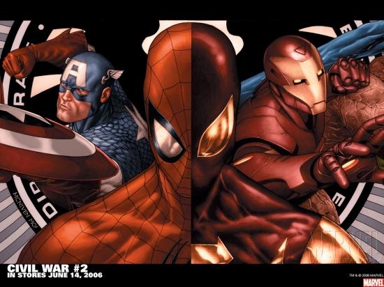 Civil War (2006) #2 Wallpaper