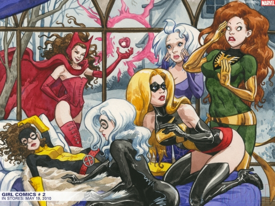 Girl Comics (2010) #2 Wallpaper