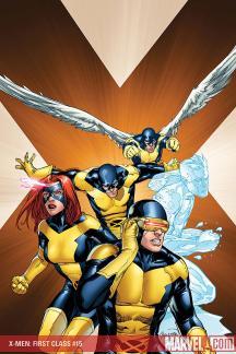 X-Men: First Class (2007) #15