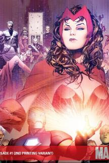 Avengers: The Children's Crusade (2010) #1 (2ND PRINTING VARIANT)