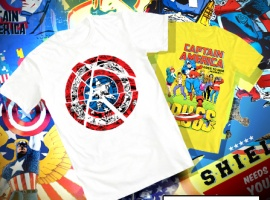 Mighty Fine: Captivating Captain America Tees