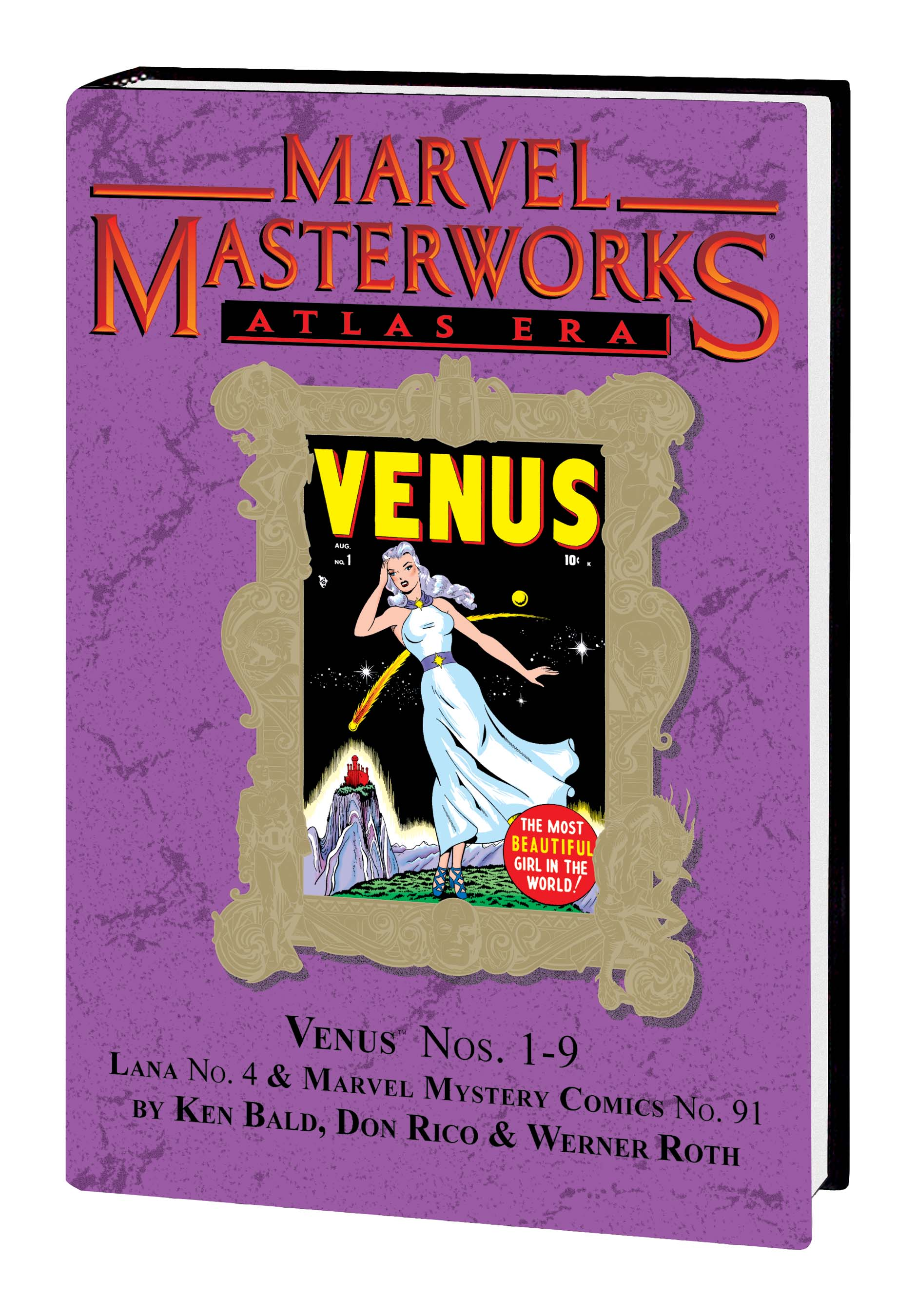 Marvel Masterworks: Atlas Era Venus (Hardcover)