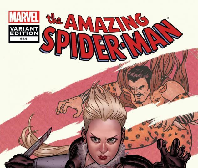 Amazing Spider-Man (1999) #634, Villian Variant