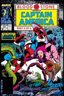 Captain America #361