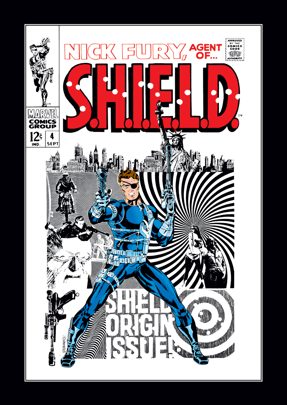 Nick Fury, Agent of S.H.I.E.L.D. (1968) #4