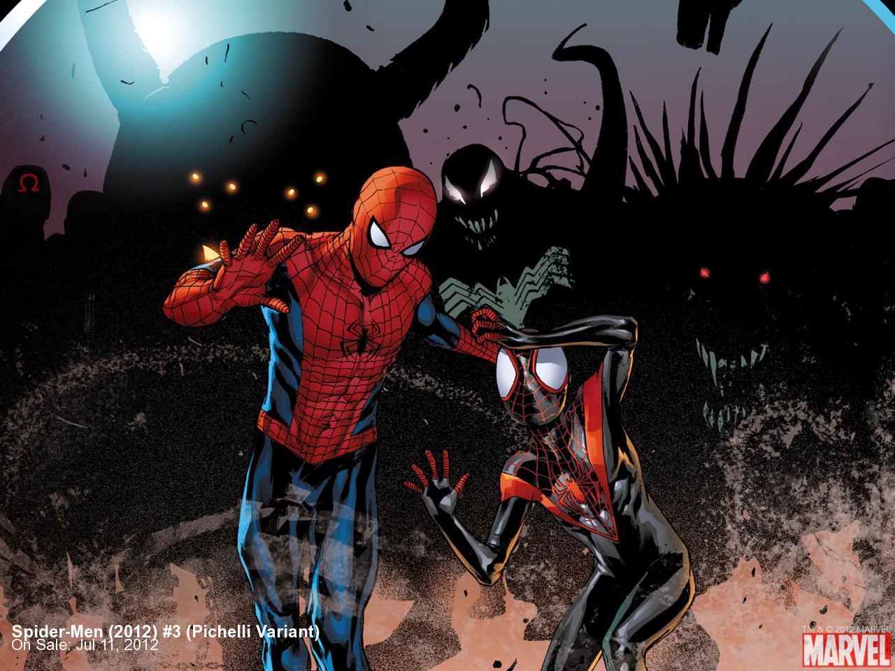 Spider-Men (2012) #3 (Pichelli Variant)