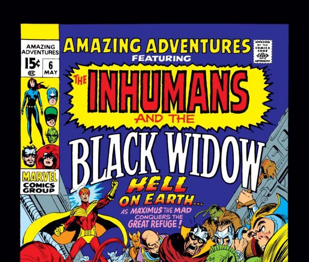 Amazing Adventures (1970) #6 Cover