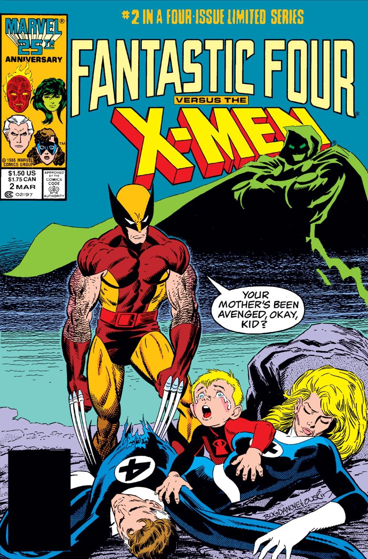 Fantastic Four Vs. X-Men (1987) #2