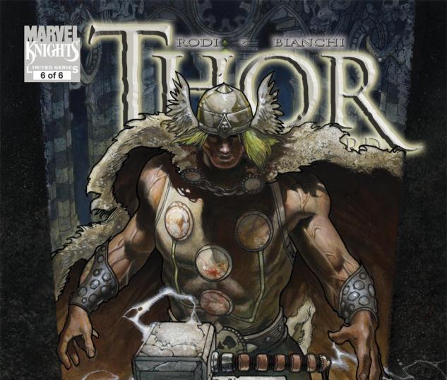 Thor: For Asgard (2010) #6 Cover