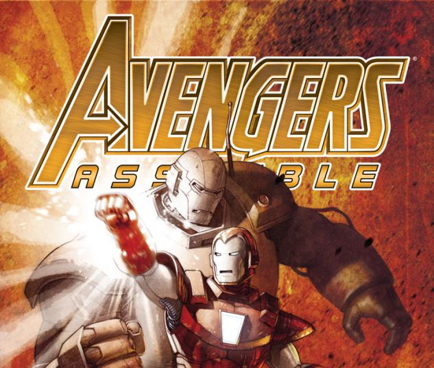 AVENGERS ASSEMBLE 14AU ROUX IRON MAN MANY ARMORS VARIANT (NOW, 1 FOR 20, WITH DIGITAL CODE)