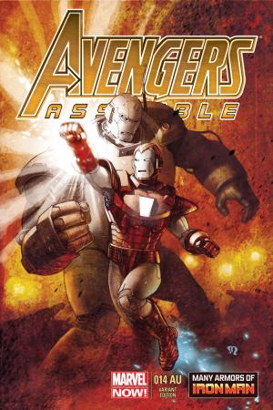 Avengers Assemble (2012) #14 (Roux Iron Man Many Armors Variant)