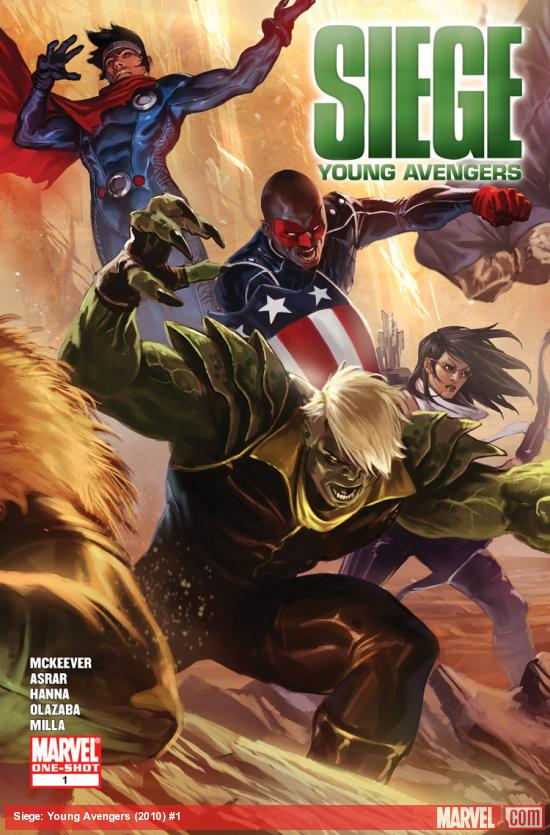 Siege: Young Avengers (2010) #1