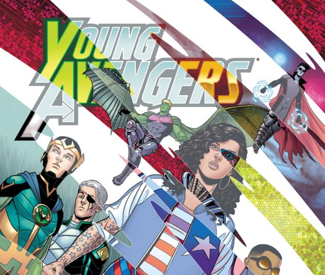 Young Avengers (2013) #8 Cover