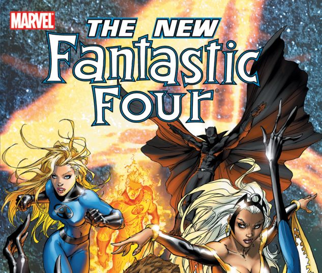 Fantastic Four: The New Fantastic Four (2008) TPB