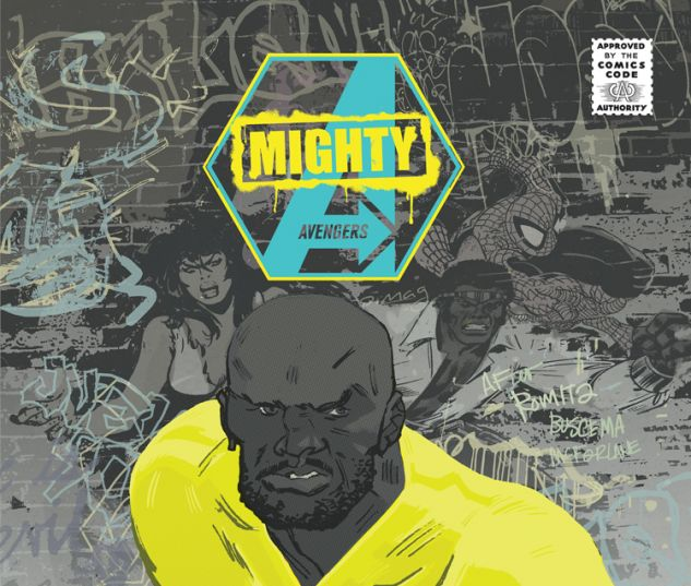 MIGHTY AVENGERS 1 LATOUR CBLDF VARIANT (INF, WITH DIGITAL CODE)