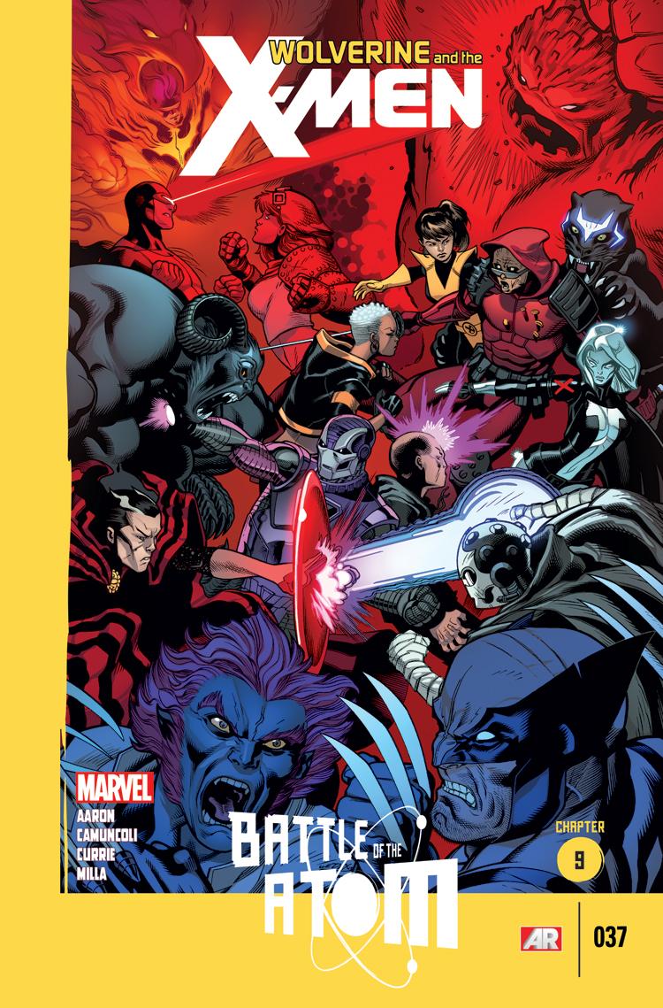 Wolverine & the X-Men (2011) #37