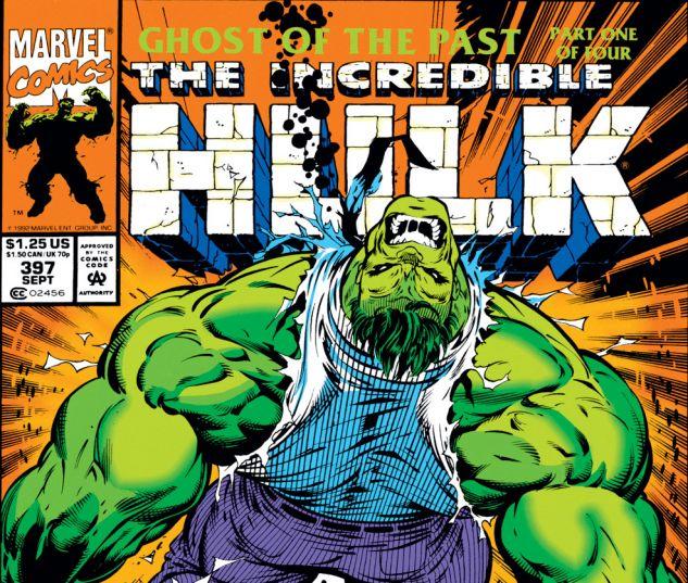 Incredible Hulk (1962) #397 Cover
