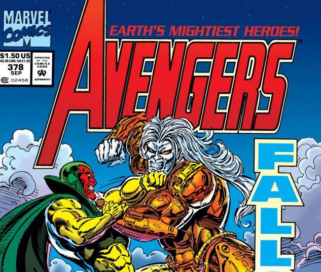 Avengers (1963) #378 Cover
