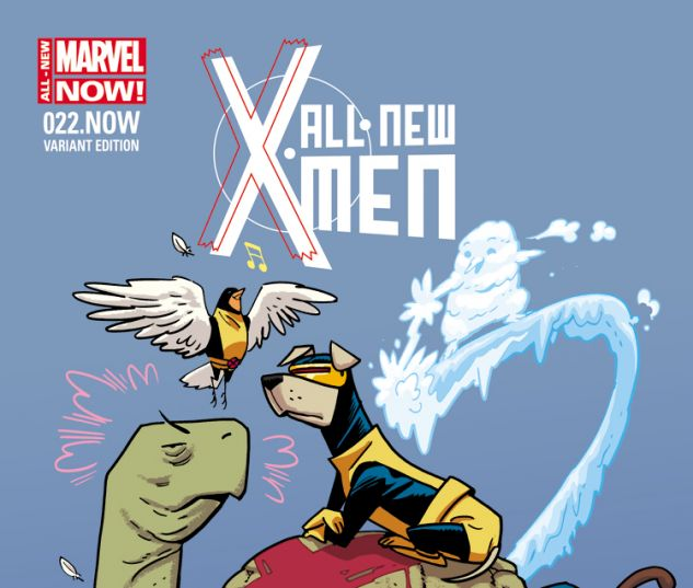 ALL-NEW X-MEN 22.NOW SAMNEE ANIMAL VARIANT (ANMN, WITH DIGITAL CODE)
