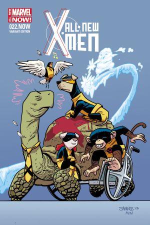 All-New X-Men (2012) #22 (Samnee Animal Variant)
