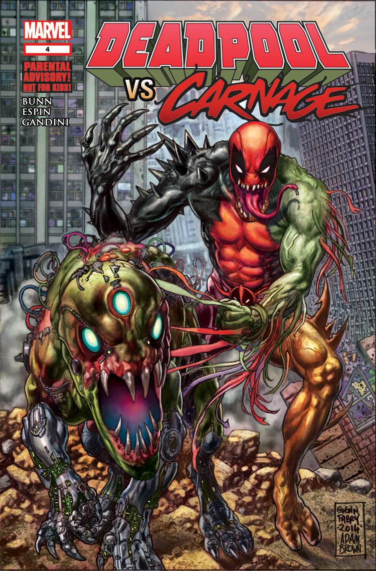Deadpool Vs. Carnage (2014) #4