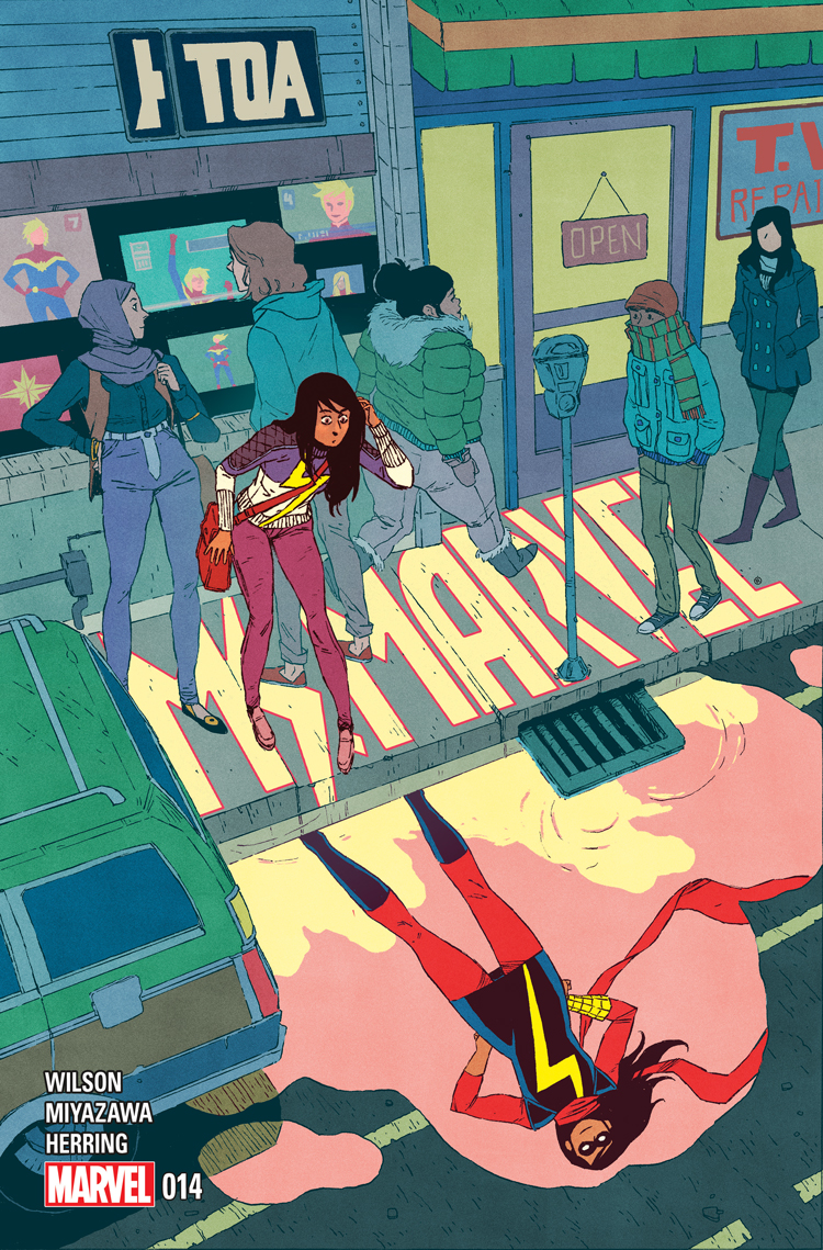 Ms. Marvel (2014) #14