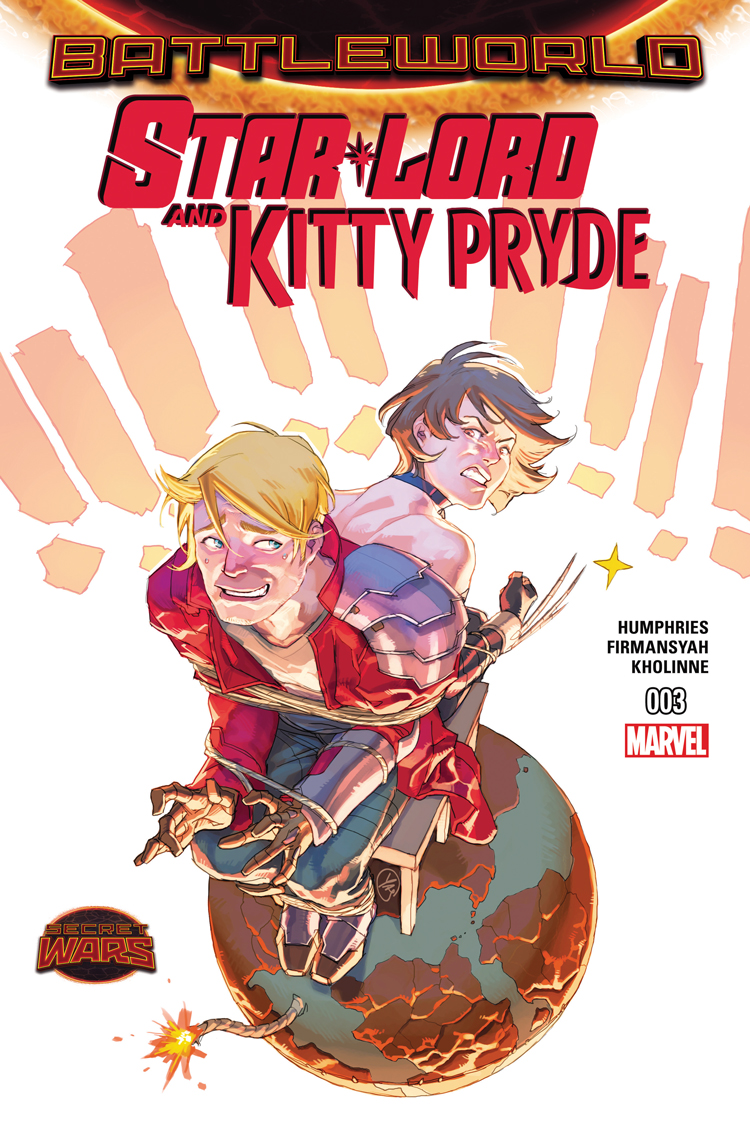 Star-Lord and Kitty Pryde (2015) #3