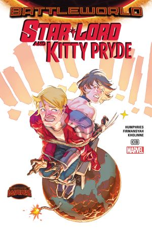 Star-Lord and Kitty Pryde #3