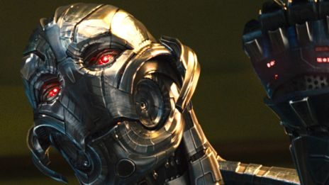 Ultron vs Vision clip