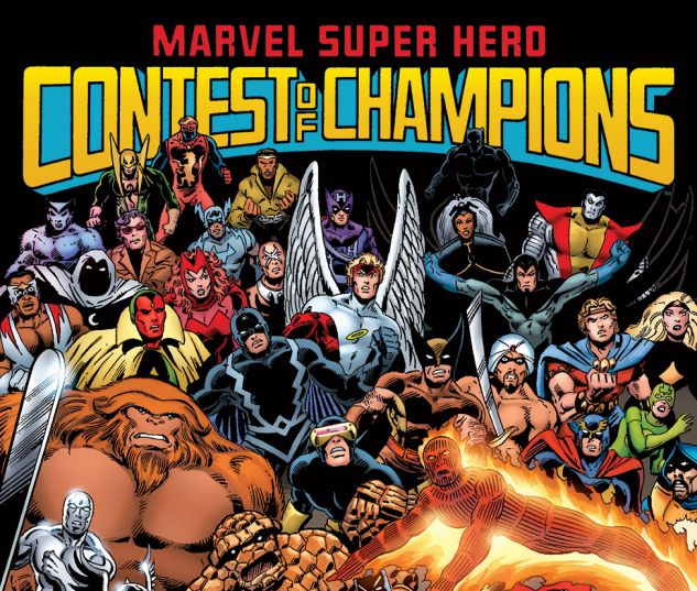cover from Marvel Super Hero Contest of Champions (2015) #1