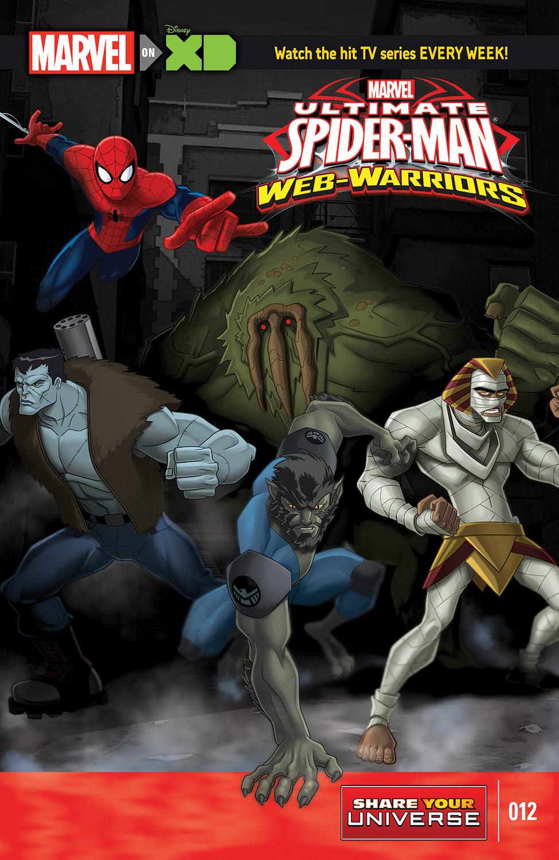 MARVEL UNIVERSE ULTIMATE SPIDER-MAN: WEB WARRIORS (2014) #12