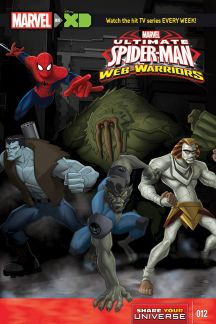 MARVEL UNIVERSE ULTIMATE SPIDER-MAN: WEB WARRIORS #12