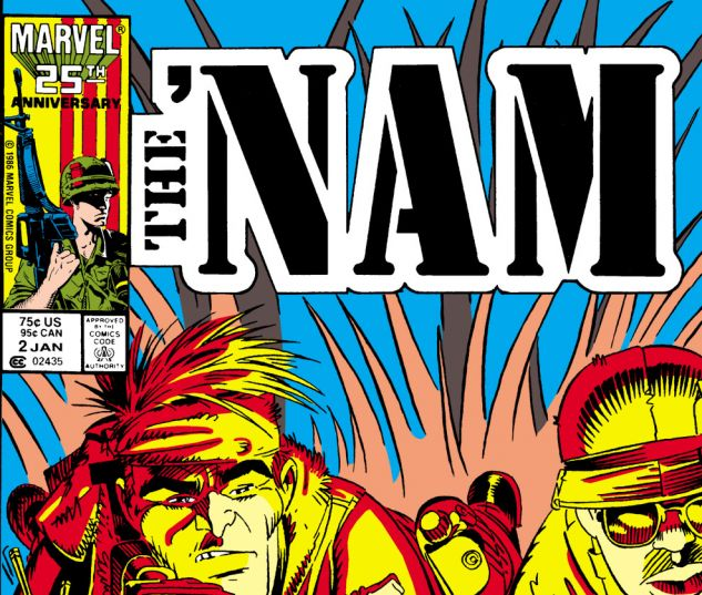 cover to 'Nam #2