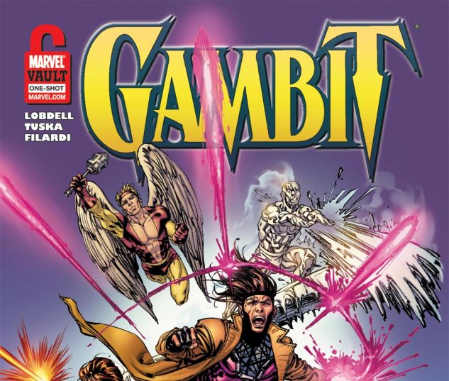 Gambit and the Champions: From the Marvel Vault ( 2011) #1 Cover