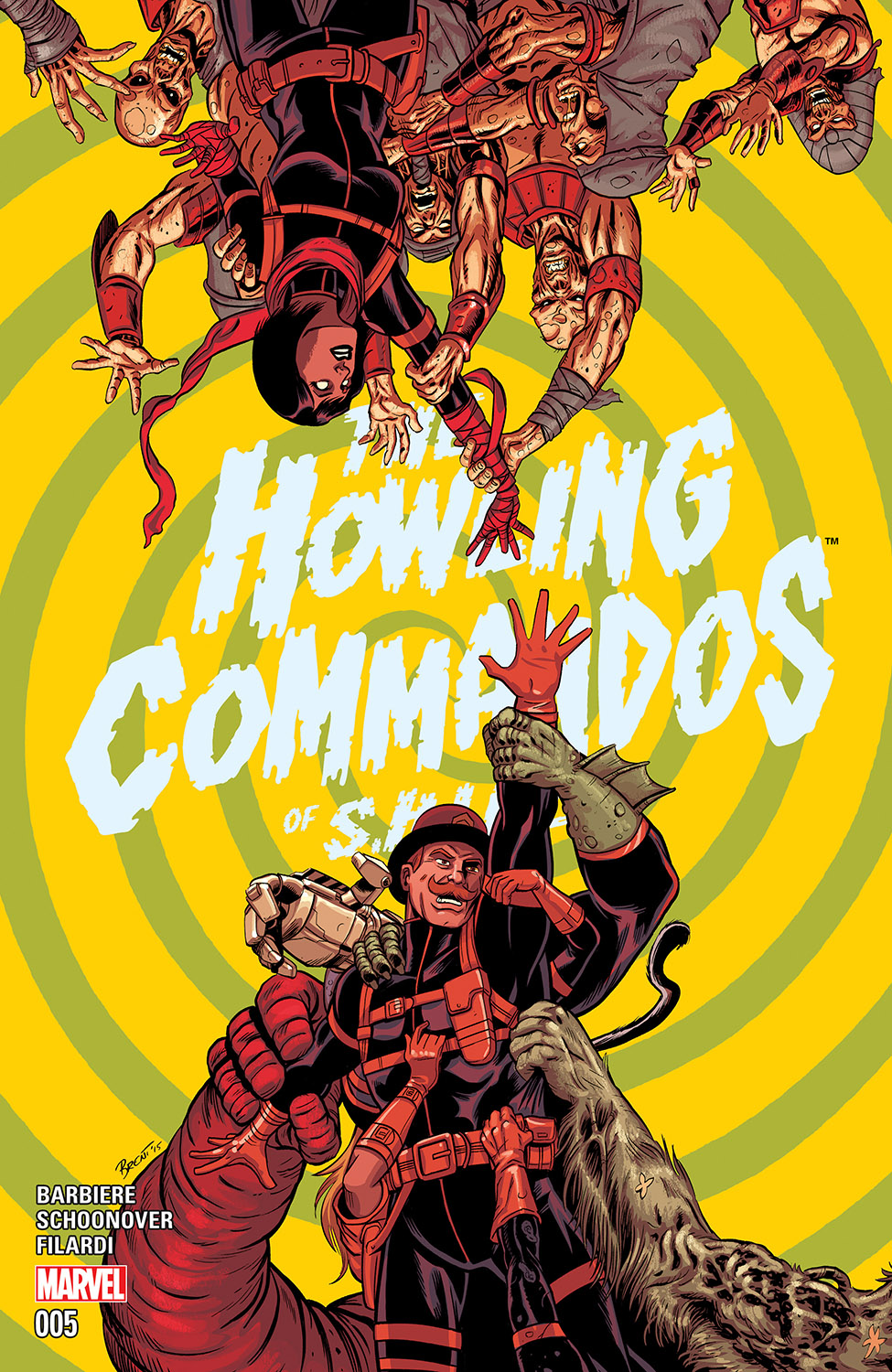 Howling Commandos of S.H.I.E.L.D. (2015) #5