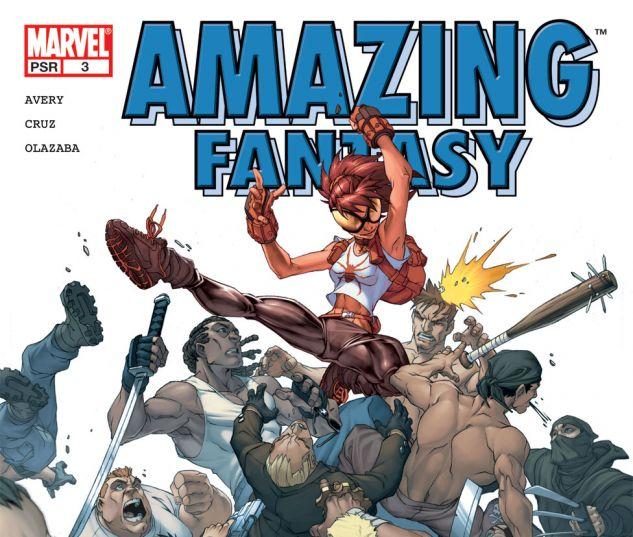 AMAZING FANTASY (2004) #3 Cover
