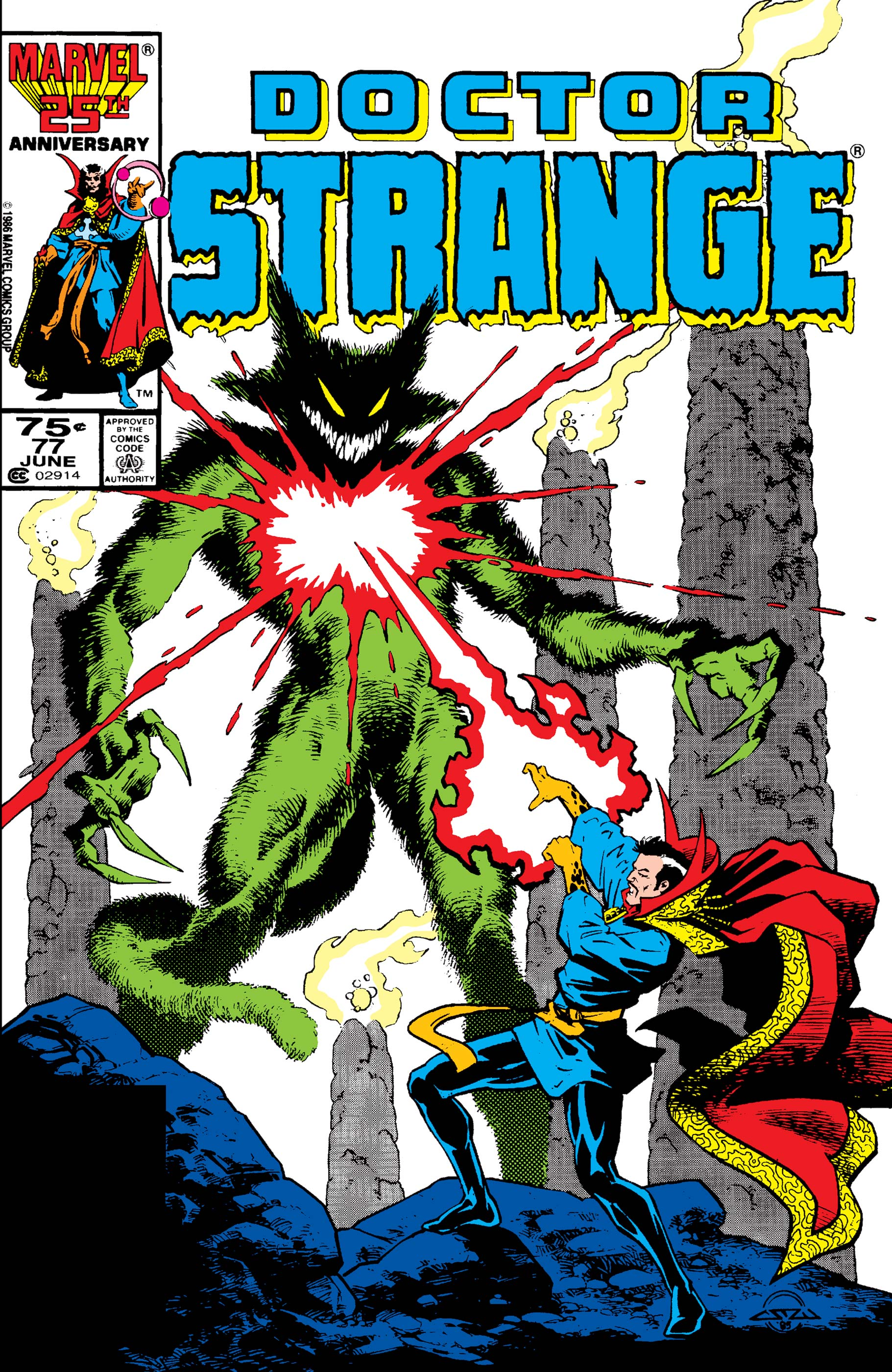 Doctor Strange (1974) #77