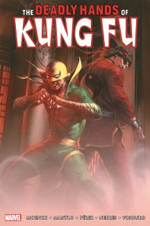 Deadly Hands of Kung Fu Omnibus Vol. 1 Dell'Otto Cover (Hardcover)