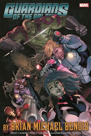 Guardians of The Galaxy by Brian Michael Bendis Omnibus Vol. 1 (Hardcover)