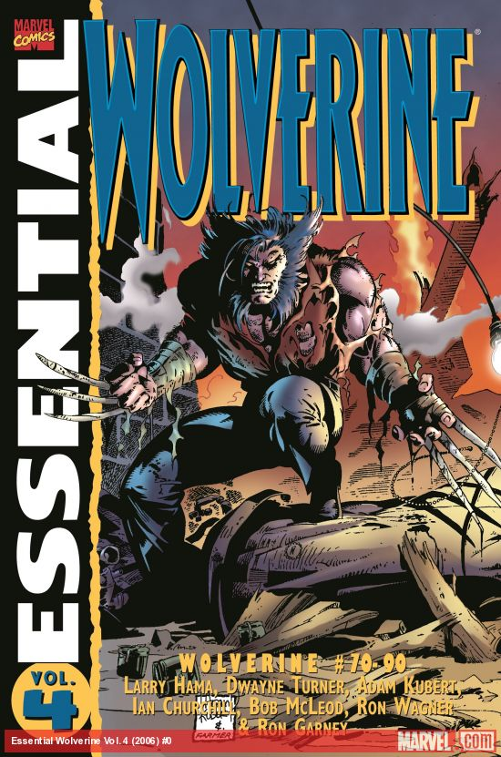 Essential Wolverine Vol. 4 (Trade Paperback)
