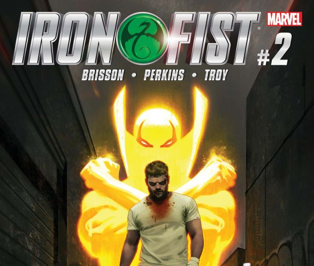 cover from Iron Fist (2017) #2