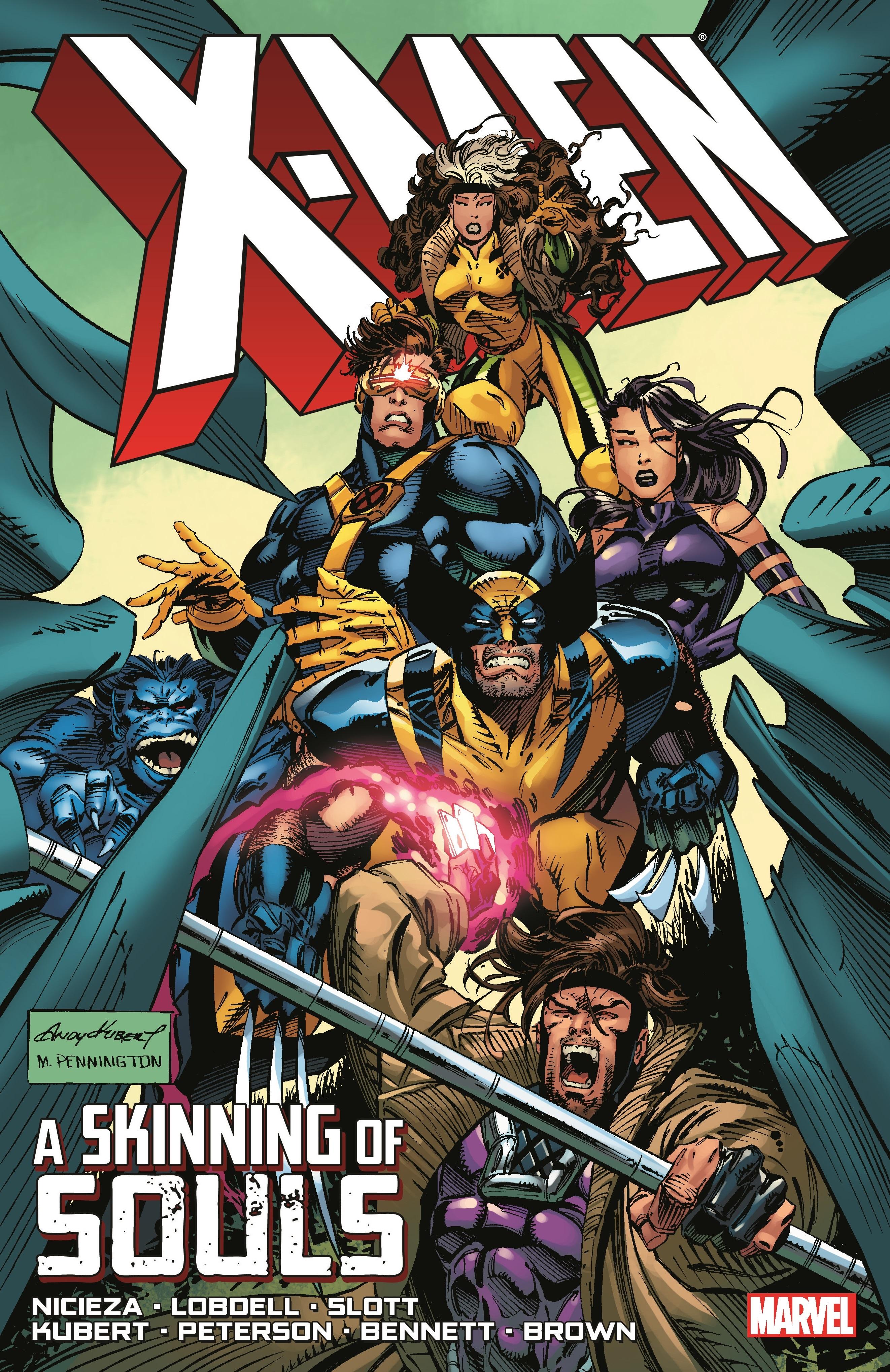 X-Men: A Skinning of Souls (Trade Paperback)