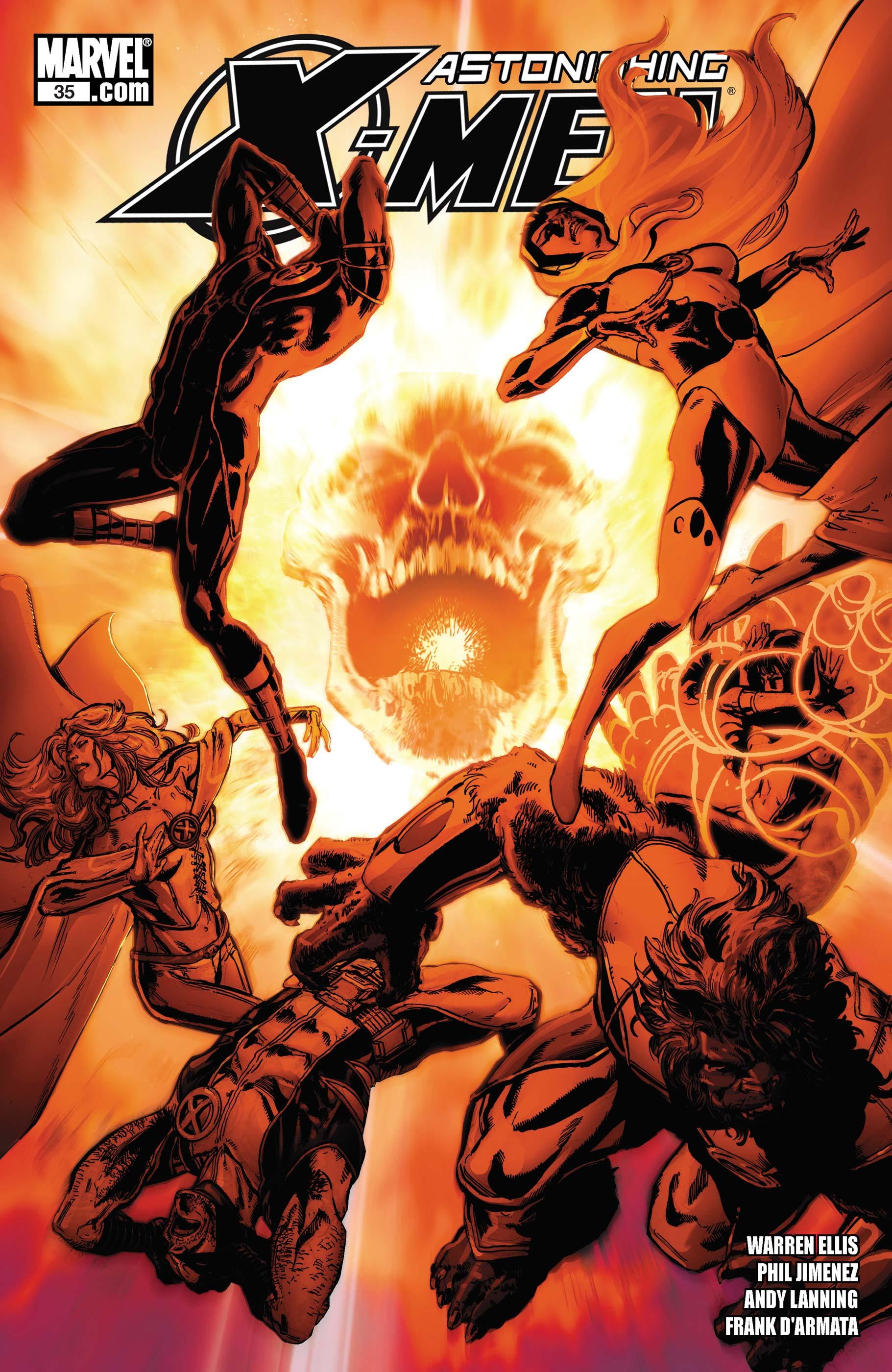 Astonishing X-Men (2004) #35