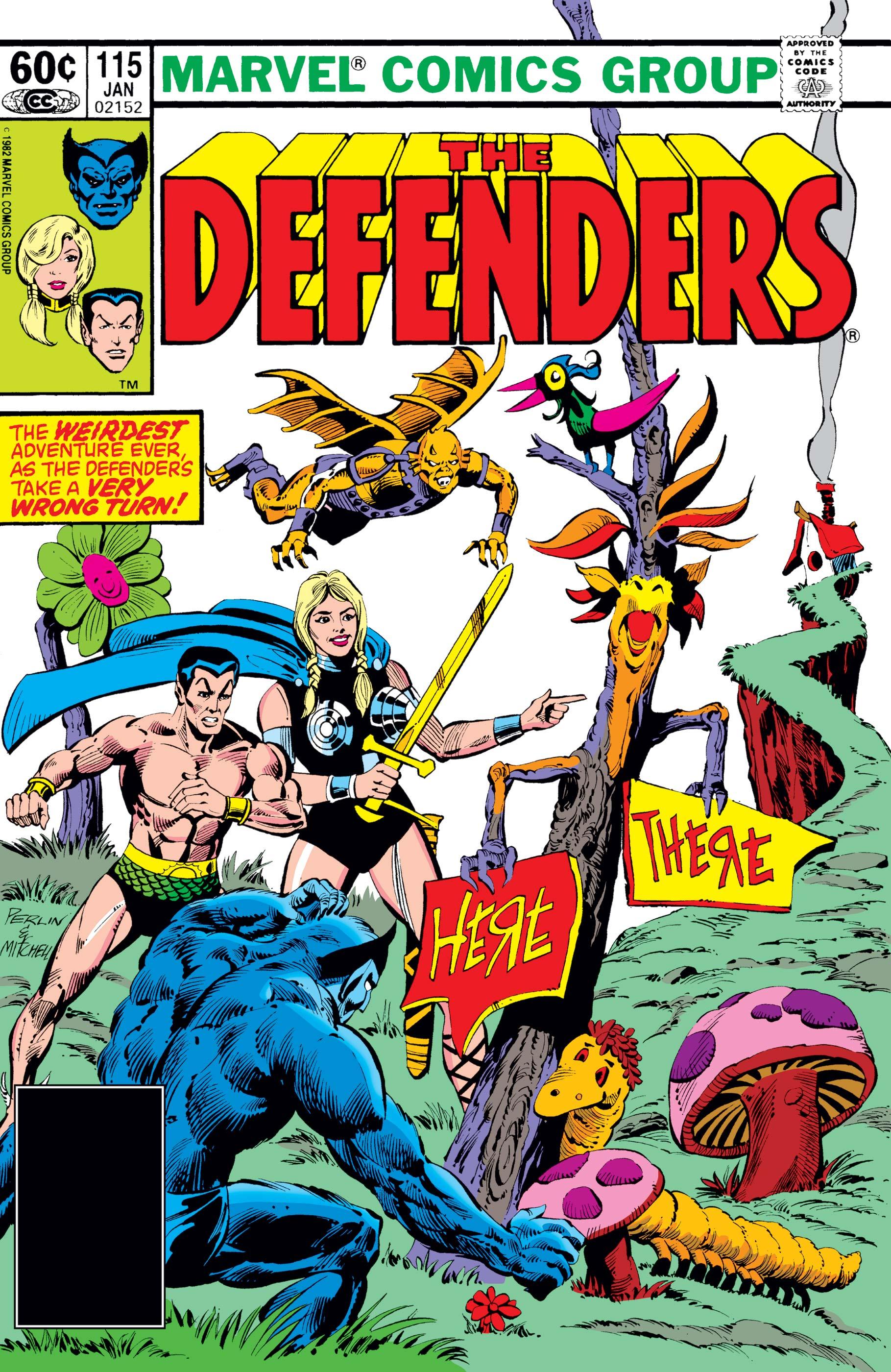 Defenders (1972) #115