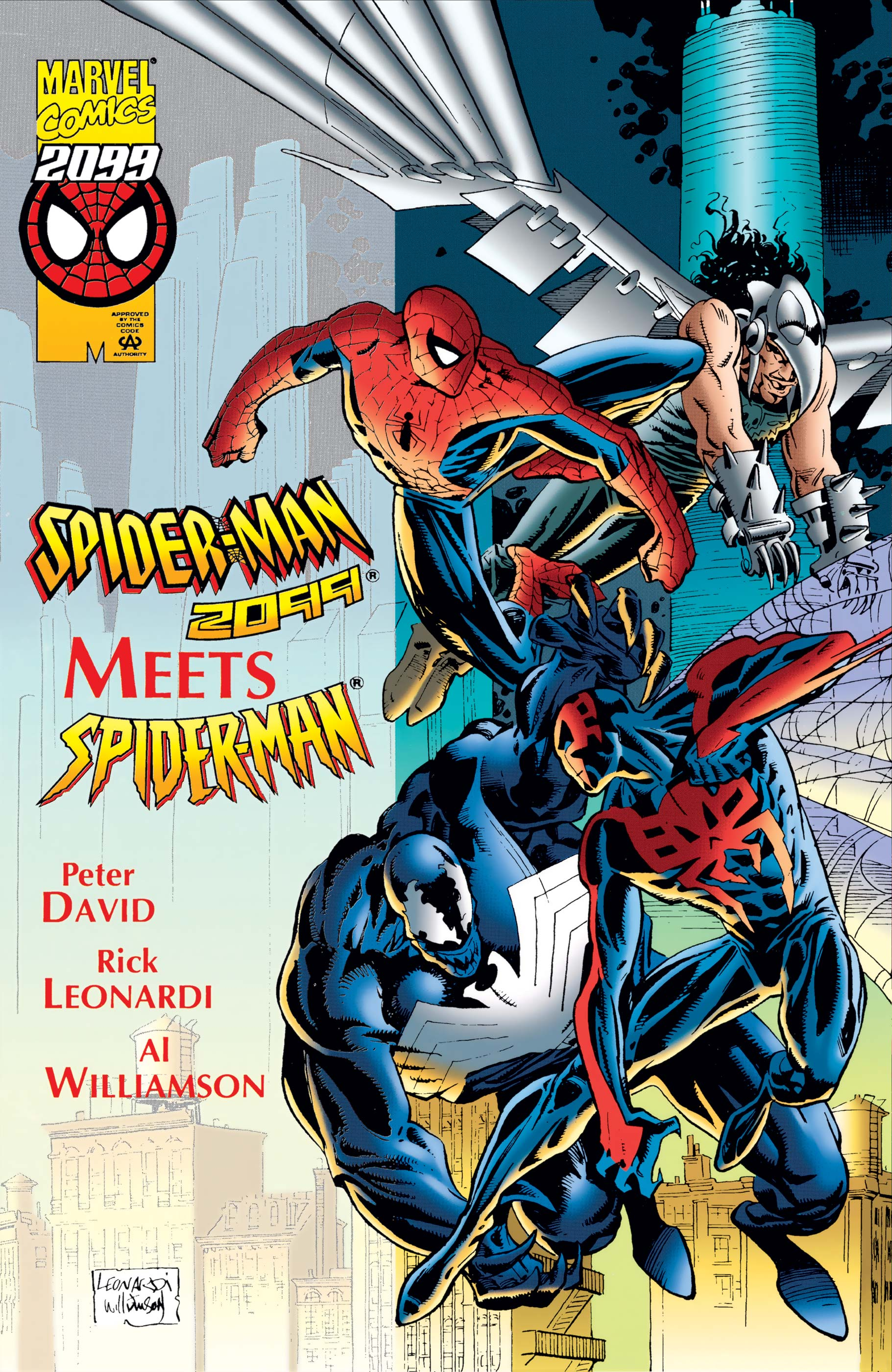 Spider-Man 2099 Meets Spider-Man (1995) #1