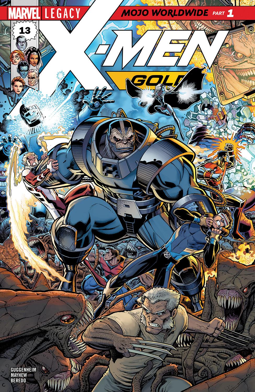 X-Men: Gold (2017) #13