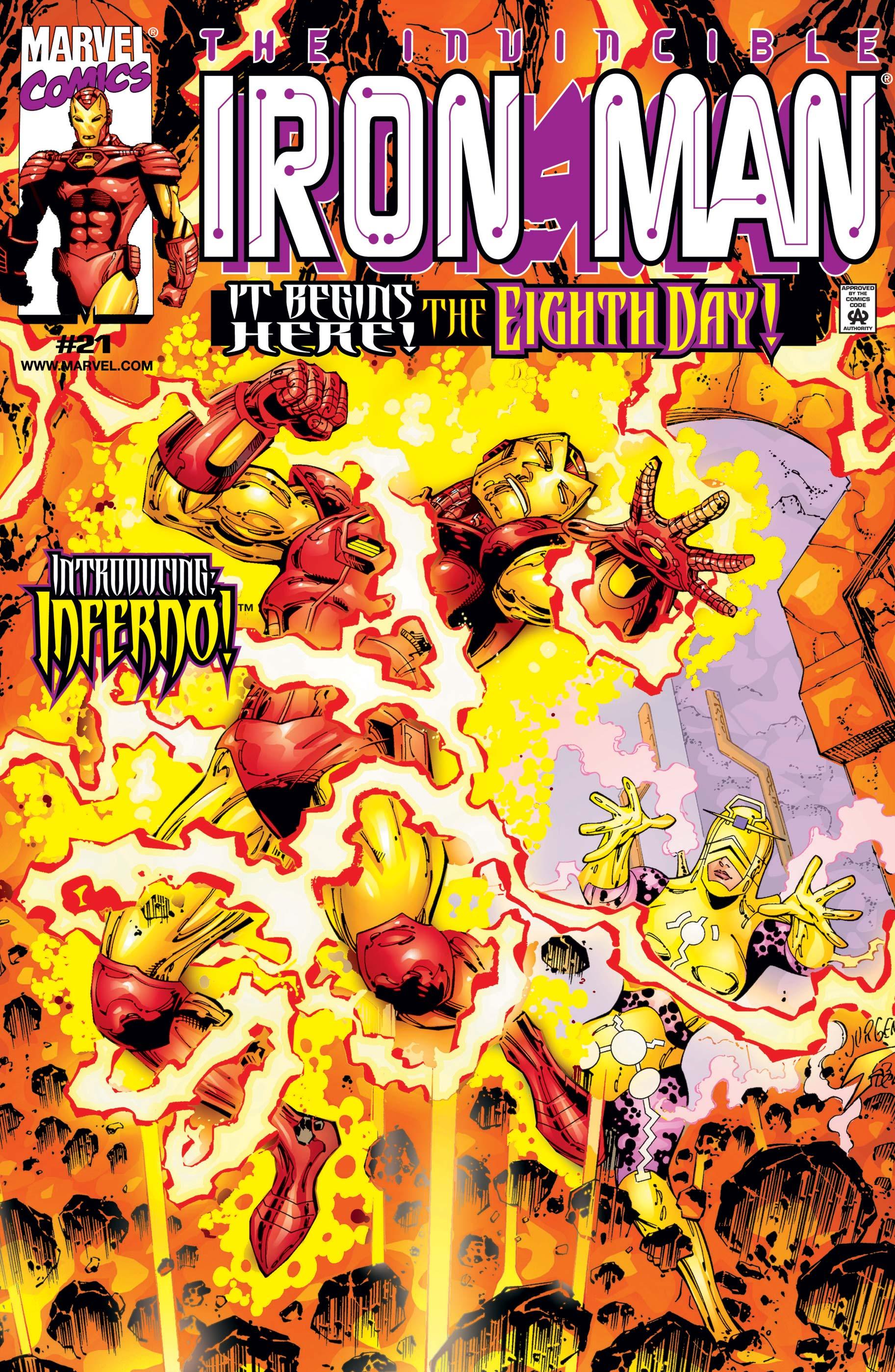 Iron Man (1998) #21