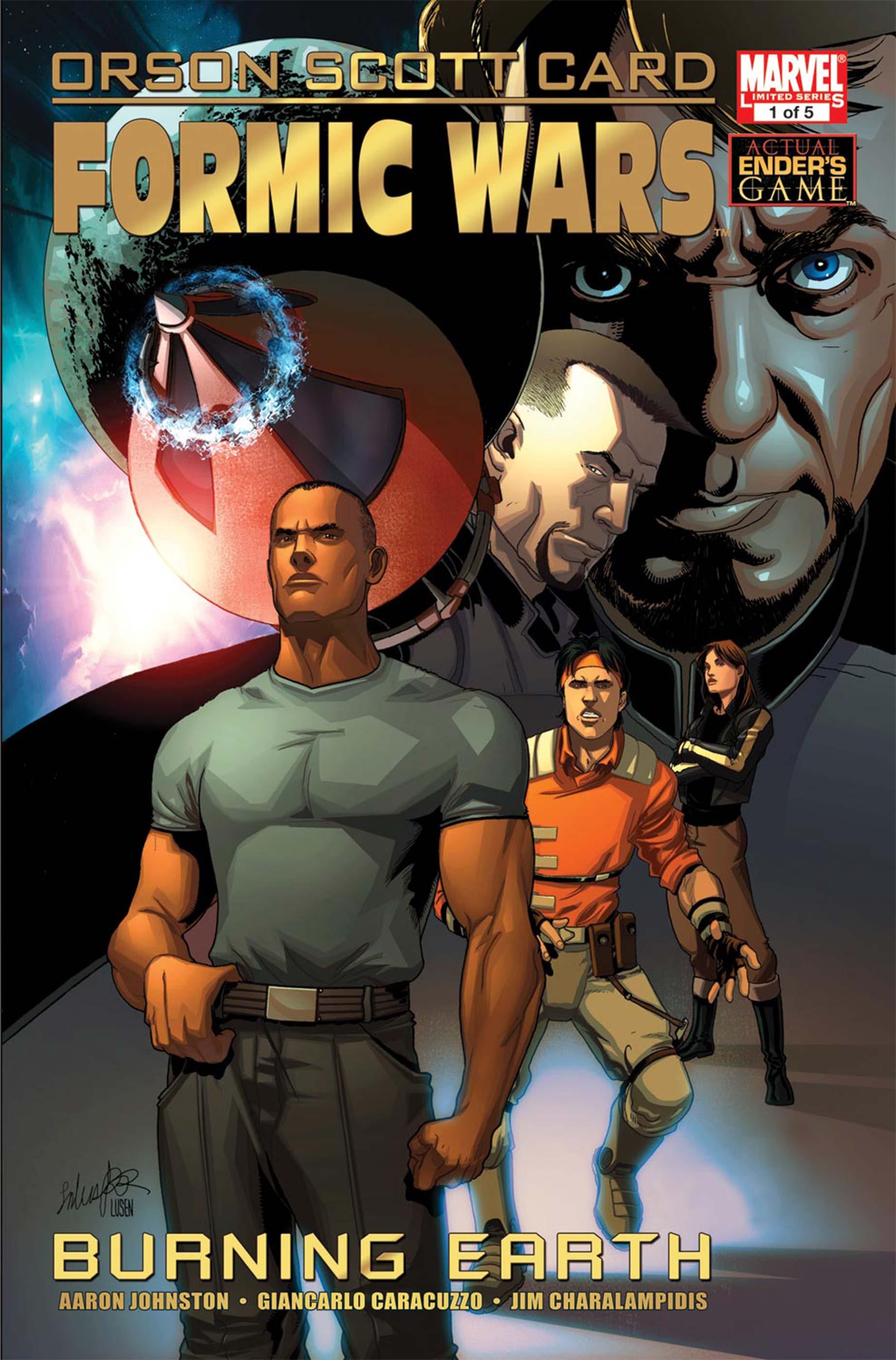 Formic Wars: Burning Earth (2011) #1