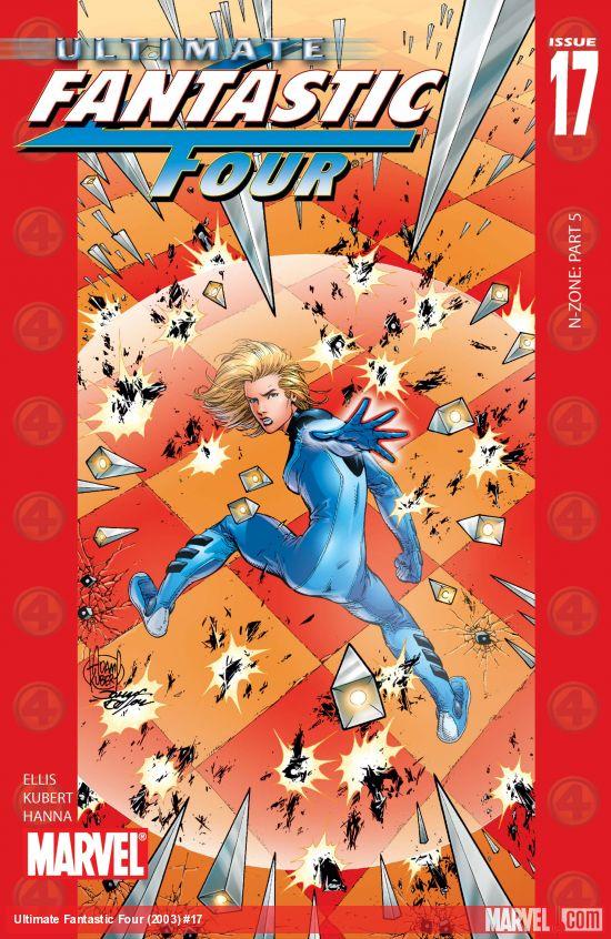 Ultimate Fantastic Four (2003) #17